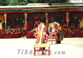 Changmo Dance, Tibet religious ceremony