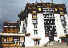 Deyang Shar of Potala Palace, Tibet